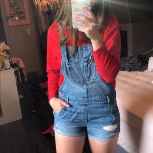 Hollister Overalls Size M